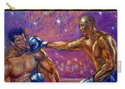 the Greatest  Muhammed Ali vs Jack Johnson Carry-all Pouch