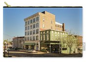 The Green Building On The Corner Carry-all Pouch