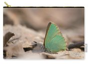 The Green Hairstreak Carry-all Pouch