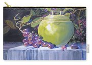 The Green Pot And Grapes Carry-all Pouch