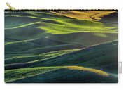 The Green Waves Of Palouse Wa Dsc05032  Carry-all Pouch