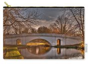 The Grove Bridge On The Grand Union Canal  Carry-all Pouch