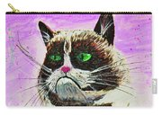 The Grumpy Cat From The Internets Carry-all Pouch