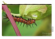 The Gulf Fritillary Caterpillar  Carry-all Pouch