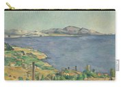 The Gulf Of Marseilles Seen From L'estaque Carry-all Pouch