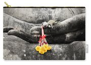 The Hand Of Buddha Carry-all Pouch by Adrian Evans
