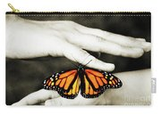 The Hands And The Butterfly Carry-all Pouch