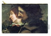 The Happy Lovers Carry-all Pouch by Gustave Courbet