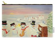 The Happy Snowman Band Carry-all Pouch