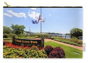 The Harbor Island Park In Mamarineck, Westchester County Carry-all Pouch