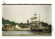 The Harbour At Honfleur Carry-all Pouch