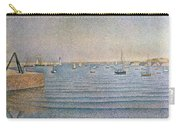 The Harbour At Portrieux Carry-all Pouch