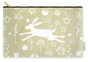 The Hare In The Meadow Carry-all Pouch