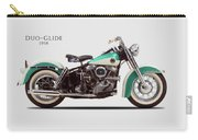 The Harley Duo-glide 1958 Carry-all Pouch