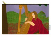 The Harpist Carry-all Pouch