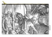 The Harrowing Of Hell Or Christ In Limbo From The Large Passion 1510 Carry-all Pouch