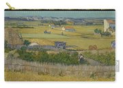 The Harvest Arles  June 1888 Vincent Van Gogh 1853  1890 Carry-all Pouch