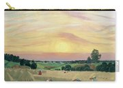 The Harvest Carry-all Pouch by Boris Mikhailovich Kustodiev