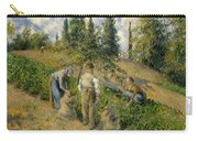 The Harvest, Pontoise, 1881  Carry-all Pouch