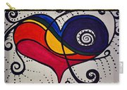 The Heart Don't Lie Carry-all Pouch