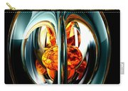 The Heart Of Chaos Abstract Carry-all Pouch