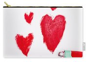 The Heart Of Love Carry-all Pouch
