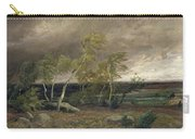 The Heath In A Storm Carry-all Pouch by Valentin Ruths