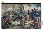 The Hero Of Trafalgar Carry-all Pouch by William Heysham Overend