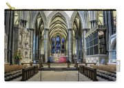The High Altar In Salisbury Cathedral Carry-all Pouch