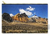 The High Andes Painted Version Carry-all Pouch