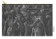 The High Priest Before Pilate [verso] Carry-all Pouch