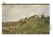 The Hill Of Montmartre With Stone Quarry 2 Carry-all Pouch