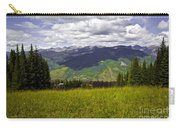 The Hills Are Alive In Vail Carry-all Pouch