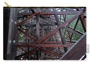 The Historic Kinsol Trestle  Inside View Carry-all Pouch