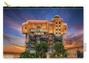 The Hollywood Tower Hotel Disneyland Carry-all Pouch