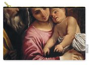 The Holy Family , Annibale Carracci Carry-all Pouch