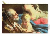 The Holy Family Carry-all Pouch by Gaetano Gandolfi