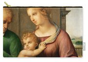 The Holy Family Carry-all Pouch by Raphael