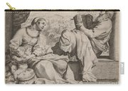 The Holy Family With Saint John The Baptist Carry-all Pouch
