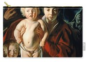 The Holy Family With St. John The Baptist Carry-all Pouch