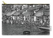 The Holy Ganges - Paint Bw Carry-all Pouch
