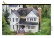 The Homes Of Mackinac Island Michigan 02 Pa Carry-all Pouch