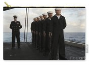 The Honor Guard Stands At Parade Rest Carry-all Pouch by Stocktrek Images