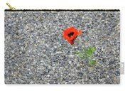 The Hopeful Poppy Carry-all Pouch