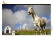 The Horse And The Chapel Carry-all Pouch