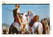 The Horse Of Submission Carry-all Pouch by Louis Eugene Ginain