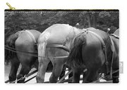 The Horses Of Mackinac Island Michigan 03 Bw Carry-all Pouch