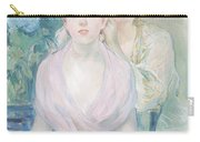The Hortensia Carry-all Pouch by Berthe Morisot