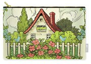 The House At The End Of Storybook Lane Carry-all Pouch