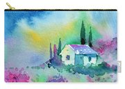 The House By The Lavender Field Carry-all Pouch